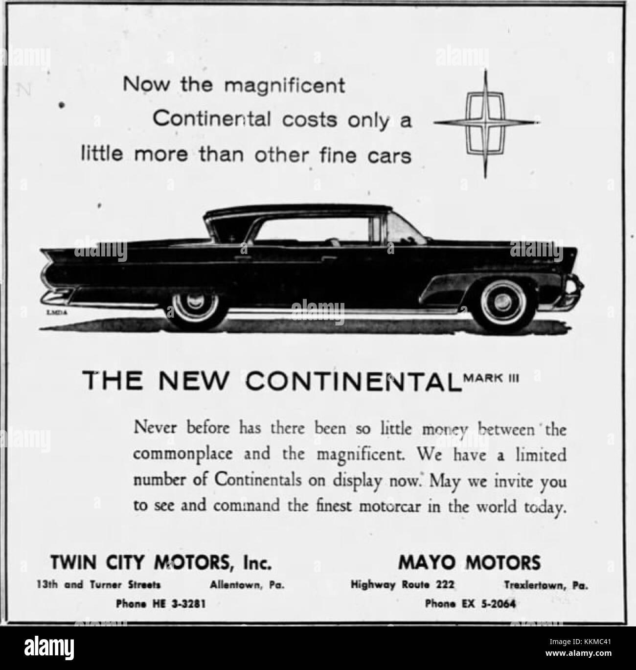 Twin City Motors >> 1958 Twin City Motors 26 Mar Mc Allentown Pa Stock