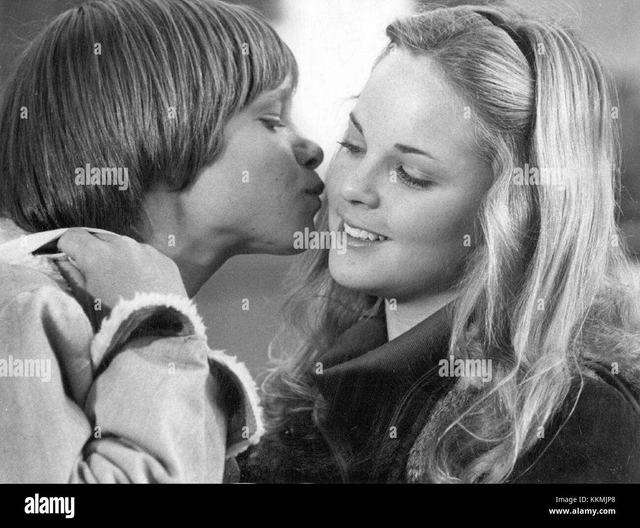 James at 15 Lance Kerwin Melissa Sue Anderson 1977 - Stock Image