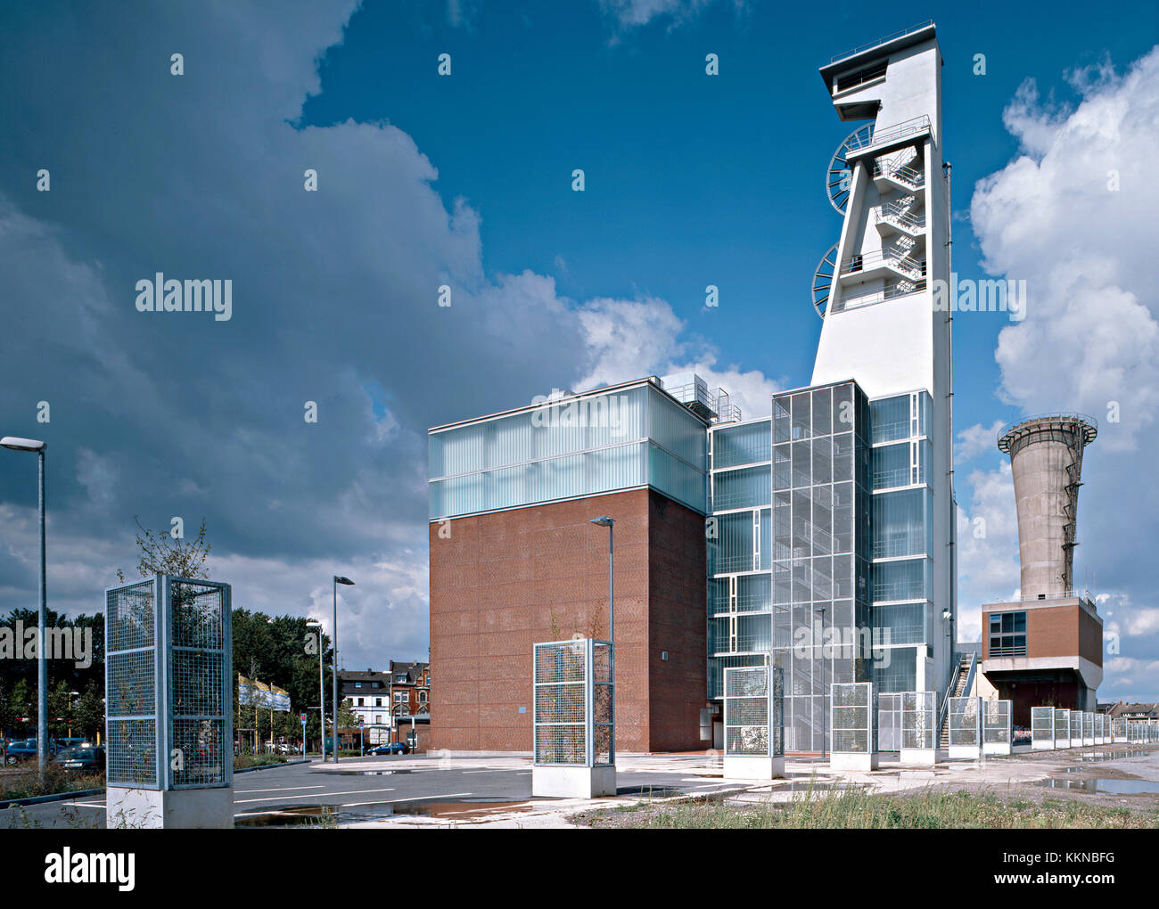 Musikprobenzentrum, Gelsenkirchen, Zeche Stock Photo