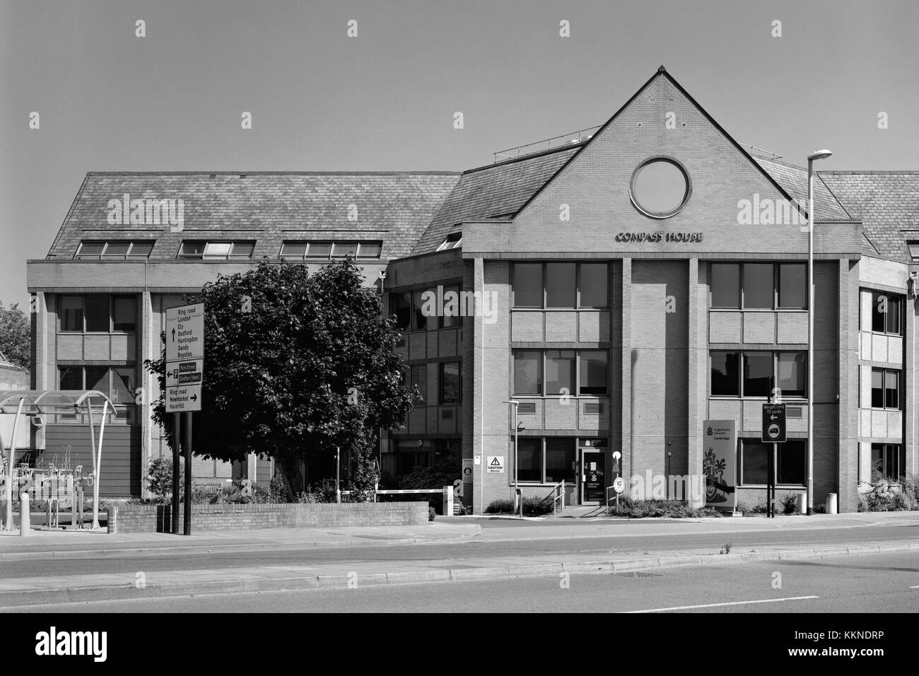 Compass House of Anglia Ruskin University, East Road Cambridge - Stock Image