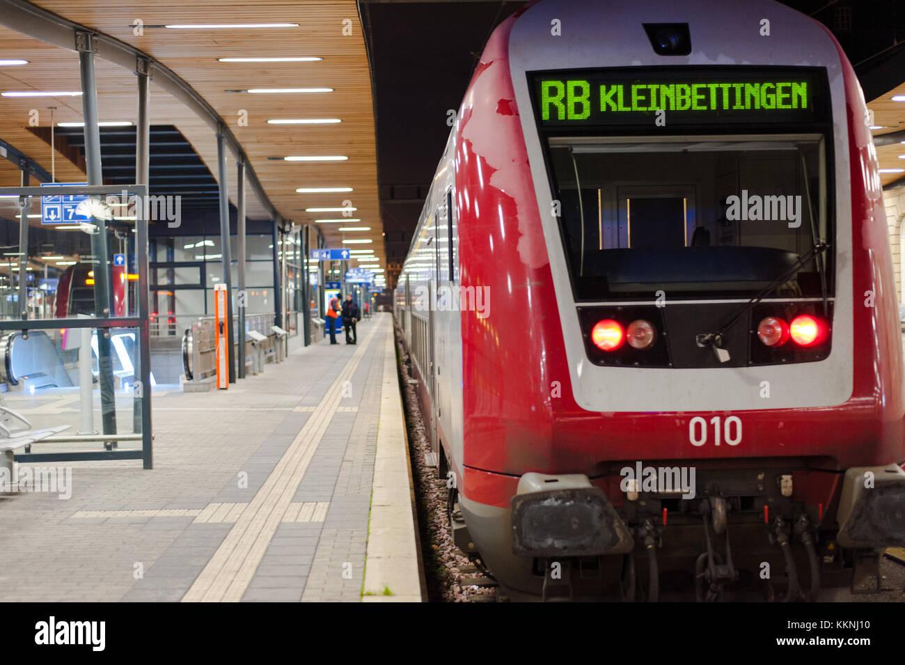 kleinbettingen luxembourg train timetables