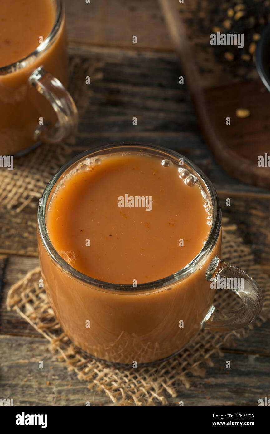 how to drink chai tea without milk