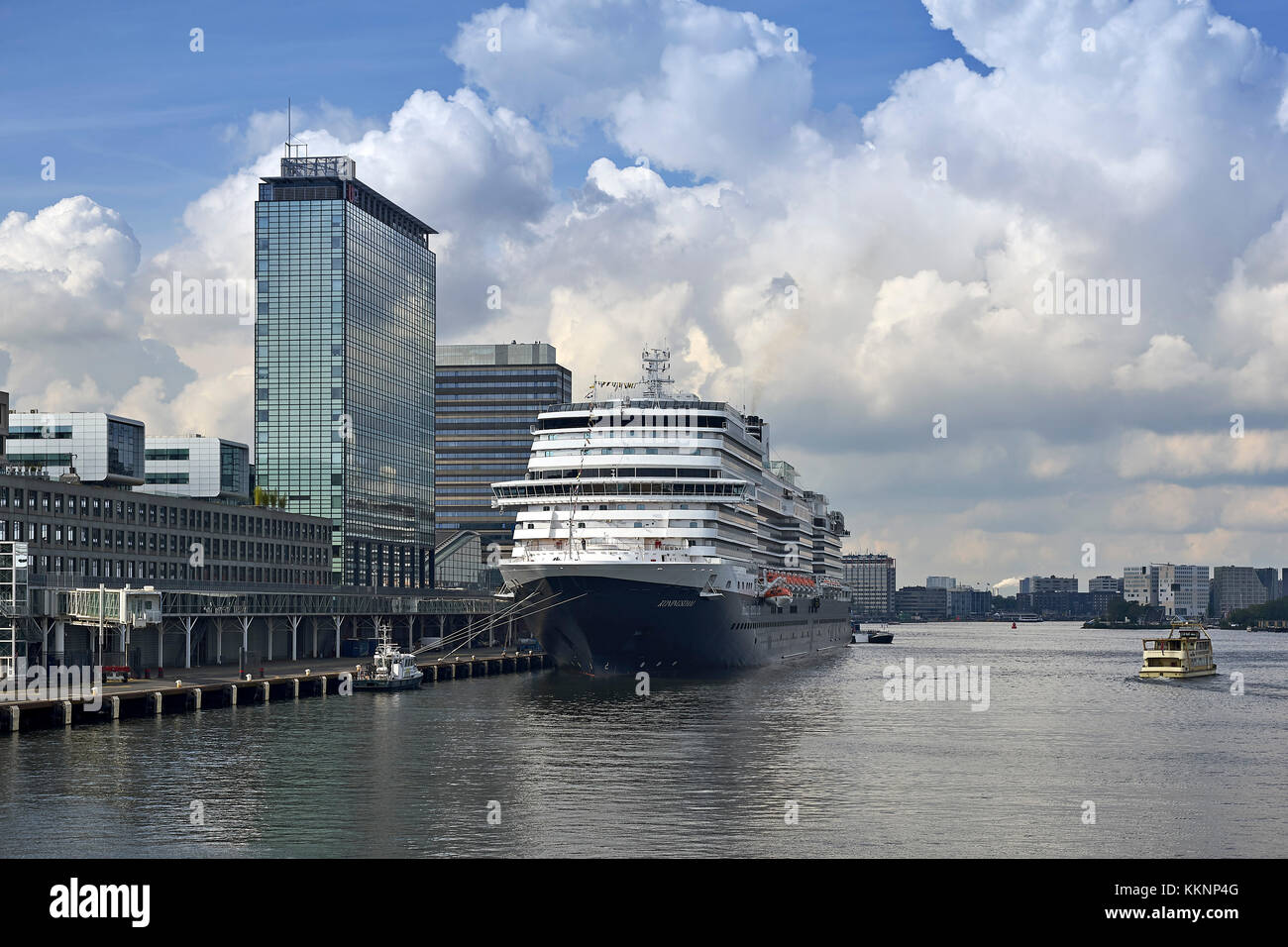 The Kingsdam in Amsterdam, North Holland, Netherlands - Stock Image