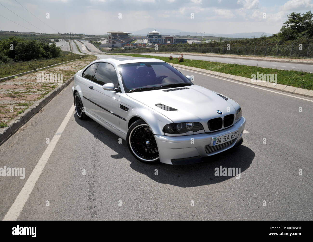 Bmw E46 M3 German Performance Car Stock Photo 167053010 Alamy