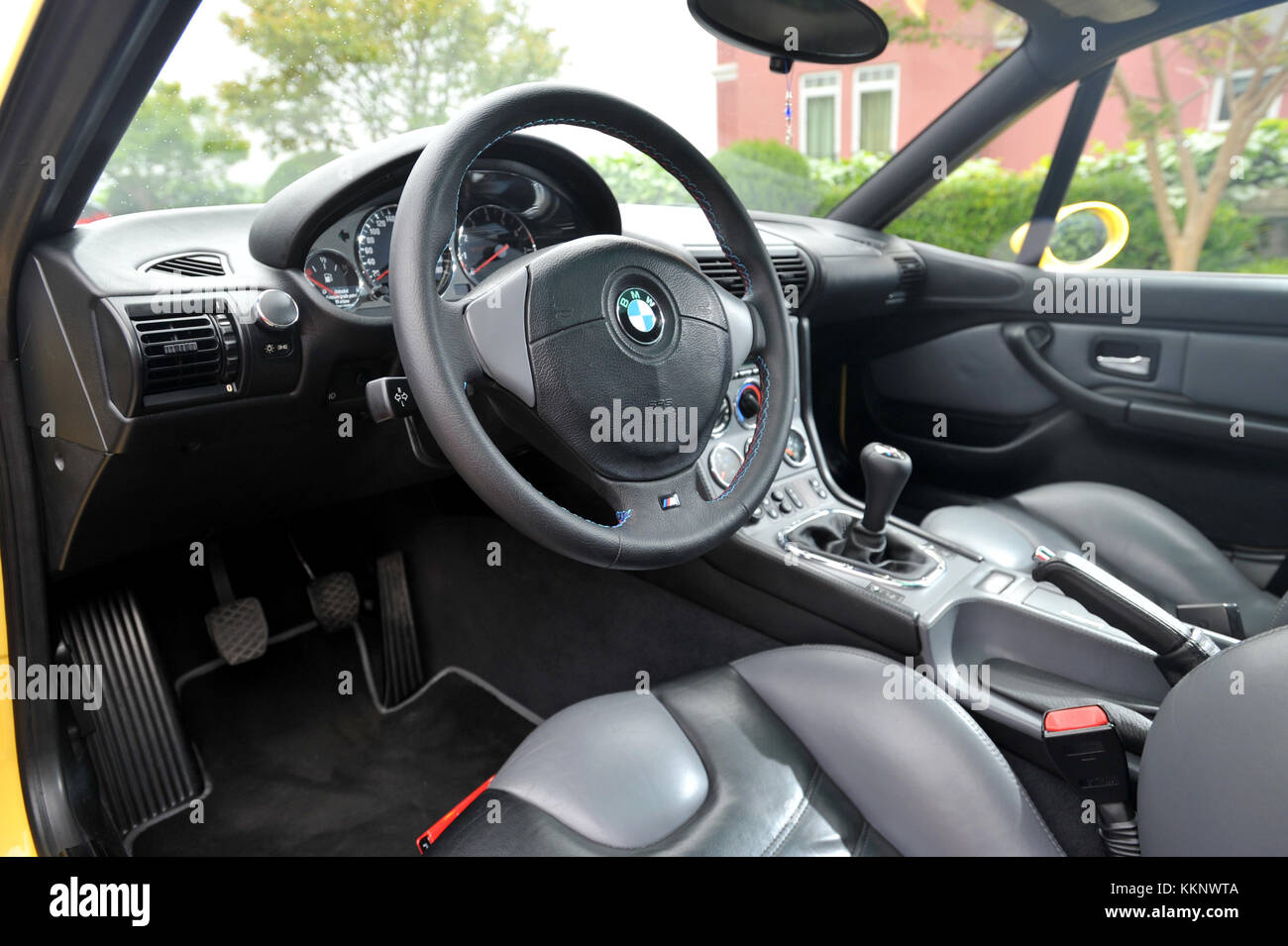Bmw Z3m Interior Stock Photo Alamy