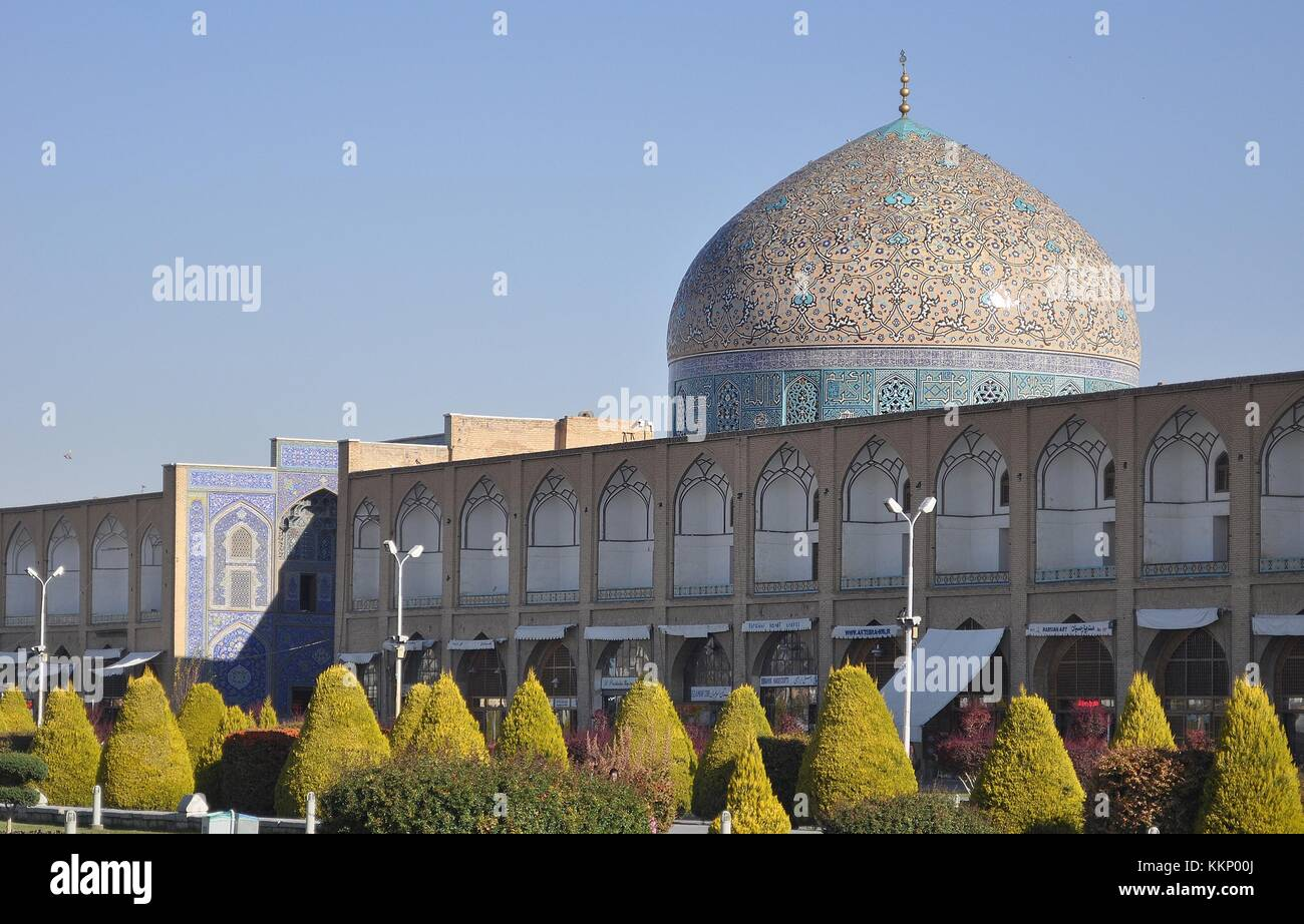 SHEIKH LUTF ALLAH MOSQUE, ISFAHAN - Stock Image