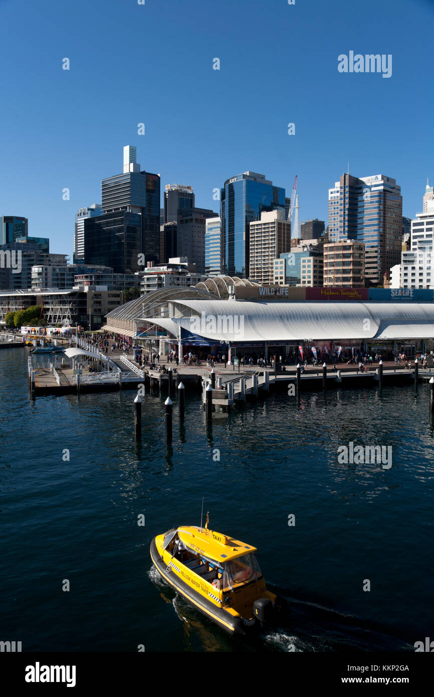 king street wharf darling harbour sydney new south wales australia - Stock Image
