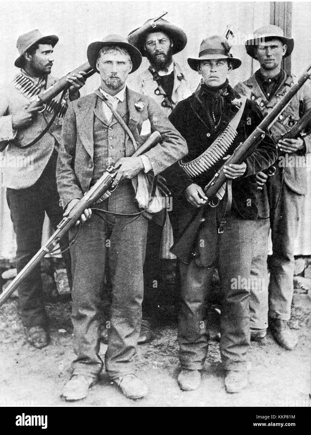 Afrikaner Commandos2 - Stock Image