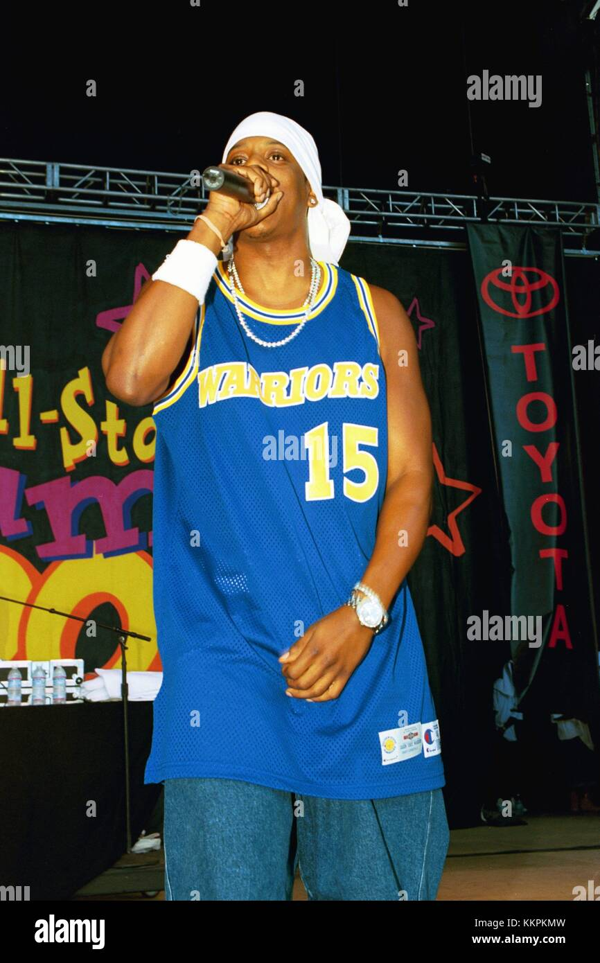 Jay-Z performing at the KMEL All-Star Summer Jam in Mountain