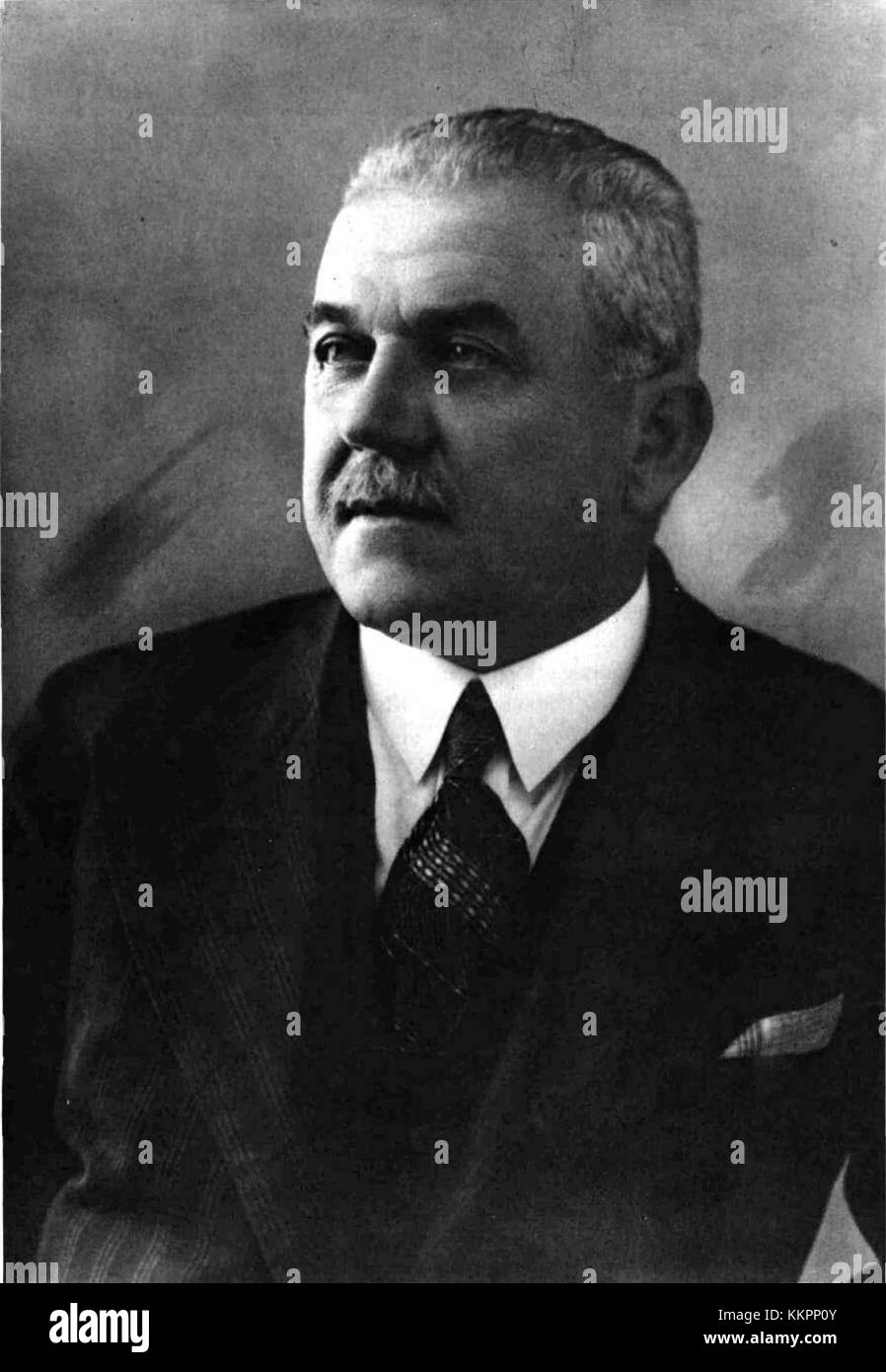 Dinko Puc 1934 Stock Photo