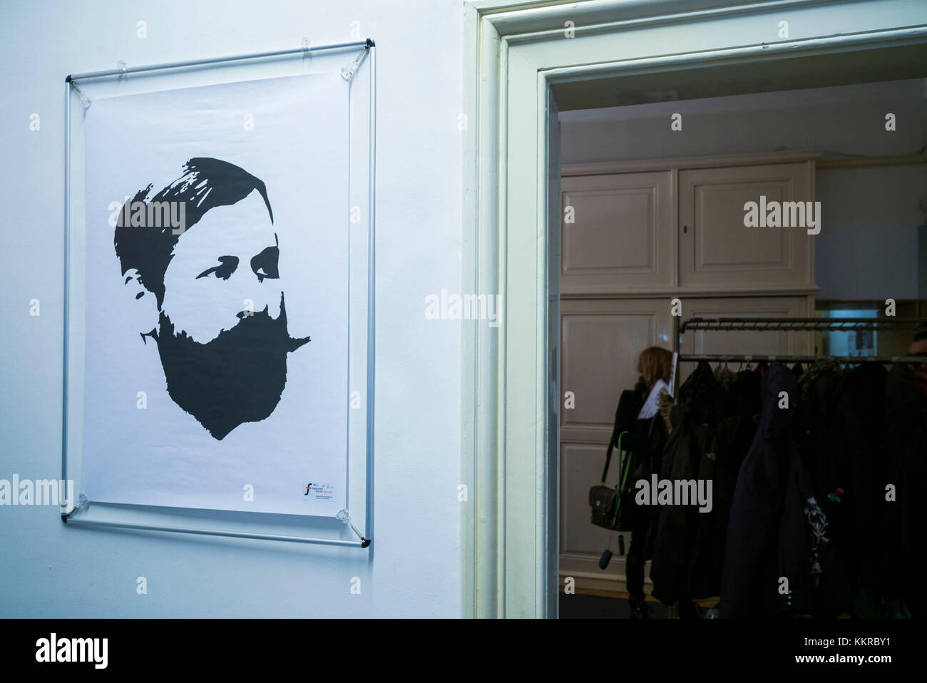 Austria, Vienna, Sigmund Freud Museum, interior - Stock Image