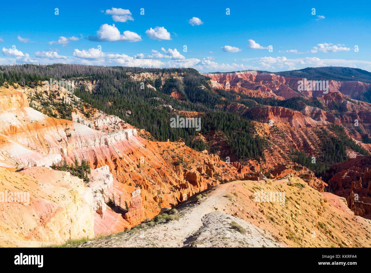 Cedar Breaks National Monument, Cedar City, Utah, USA - Stock Image