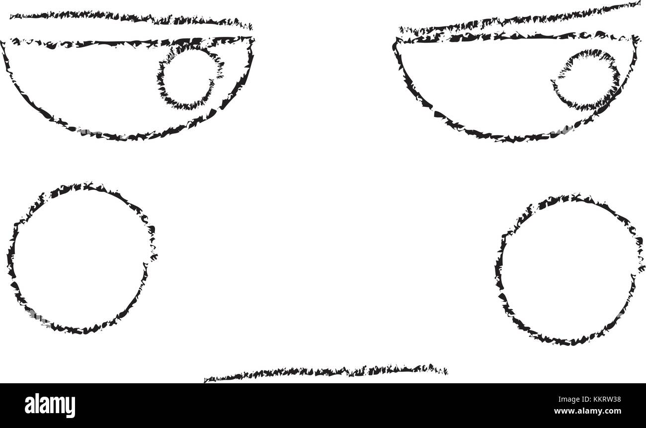 unhappy face emoji icon image  - Stock Image