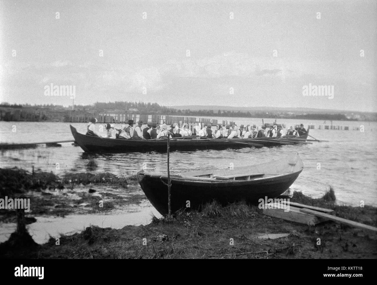 Church boat, Mora, Dalarna, Sweden (6999883529) - Stock Image