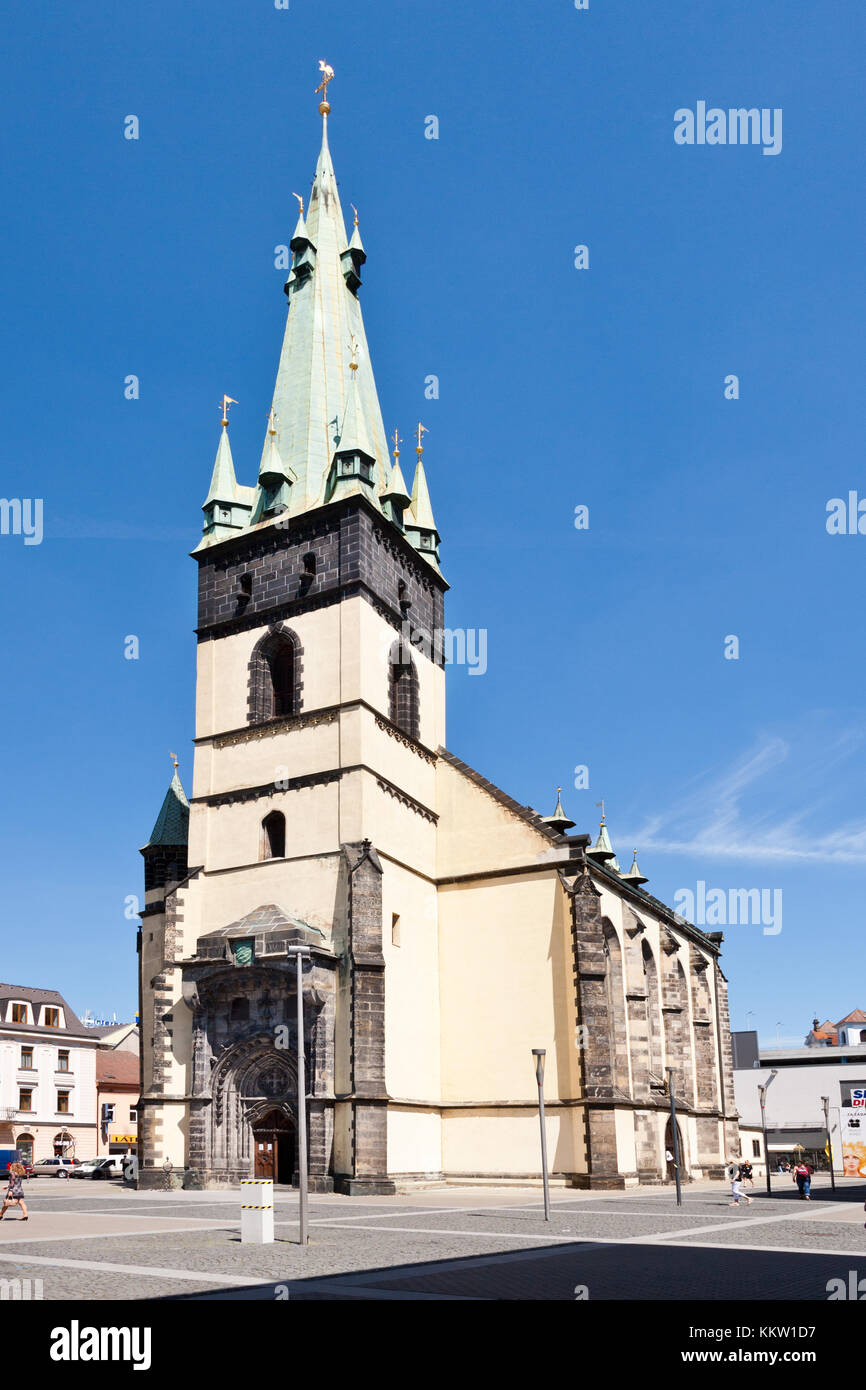 Church of the Assumption of the Virgin Mary, Usti nad Labem, Czech republic  -