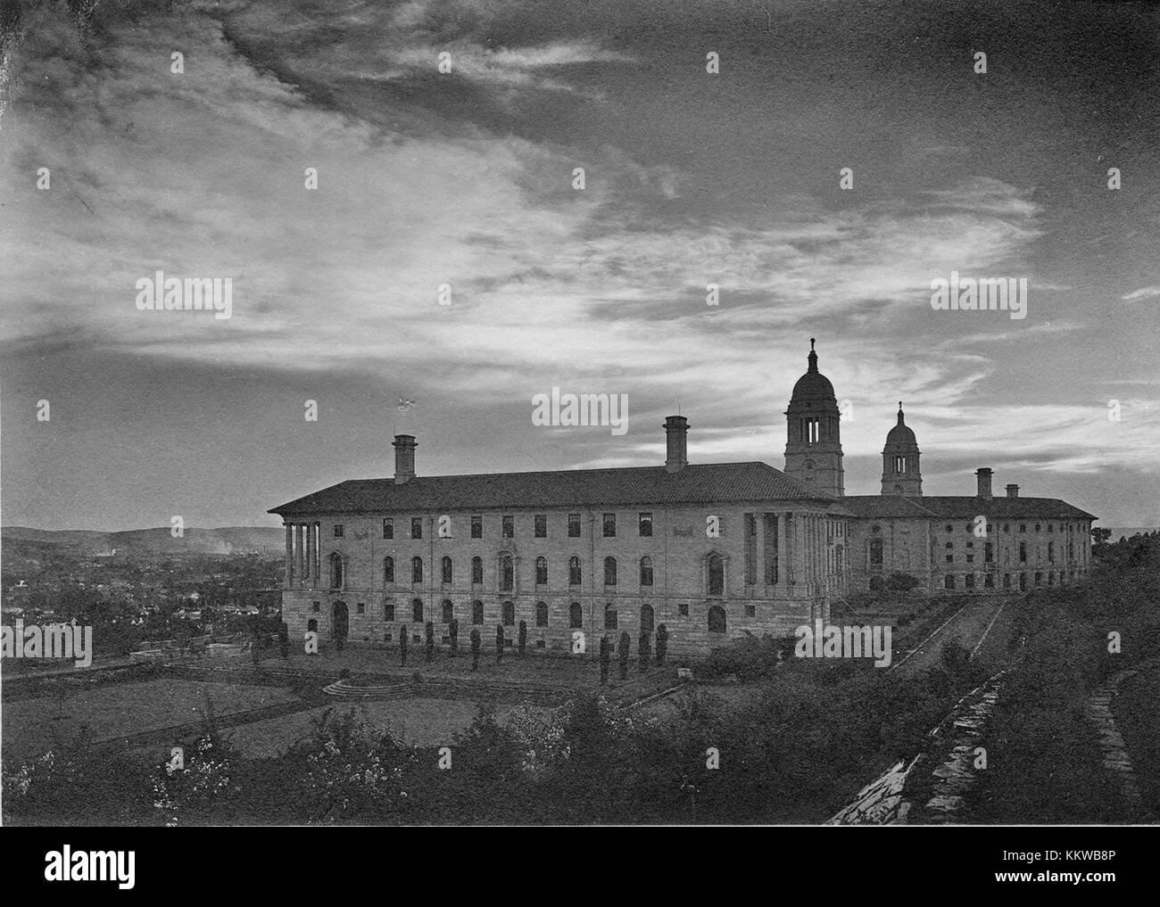 Uniegebou in Pretoria, Suid Afrika c1925 - Stock Image
