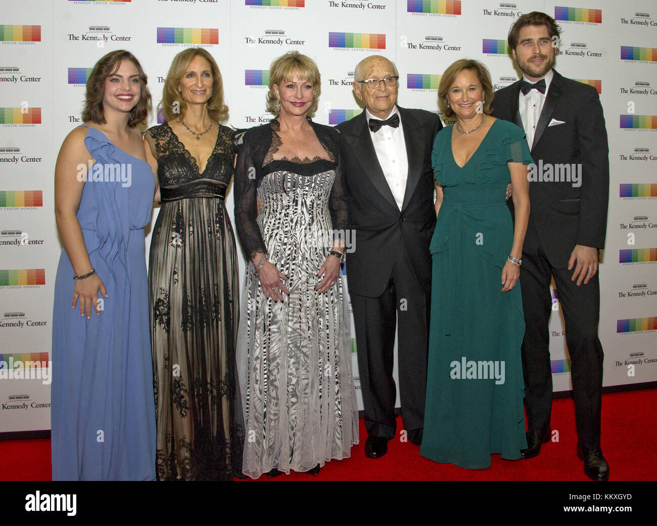 December 2, 2017 - Washington, District of Columbia, United States of America - Norman Lear and his family arrive - Stock Image