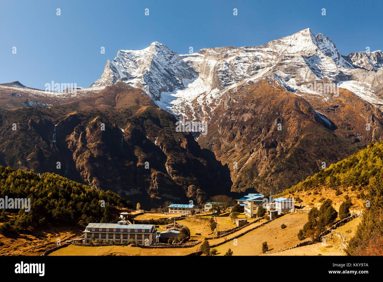 Namche Bazaar, Himalaya, Nepal - Stock Image