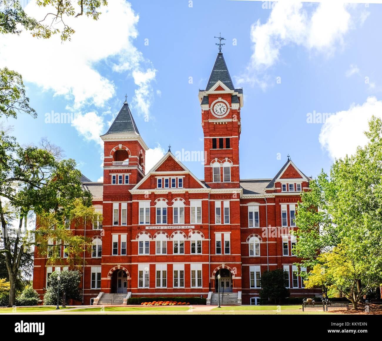 Auburn, AL, USA - October 19, 2017: Auburn University in