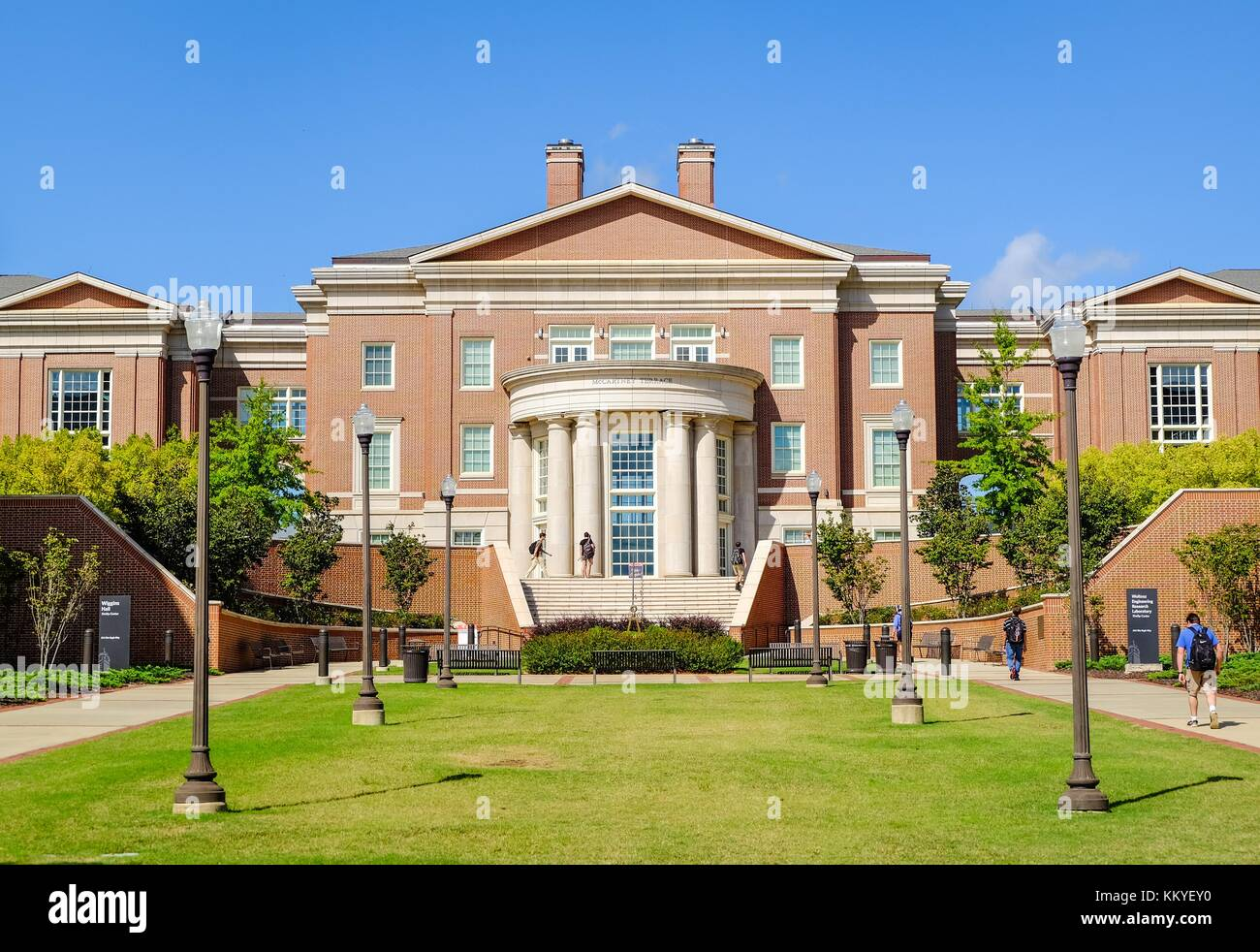 Aubur, AL, USA - October 19, 2017: Auburn University in Auburn - Lee County, Alabama, USA. - Stock Image