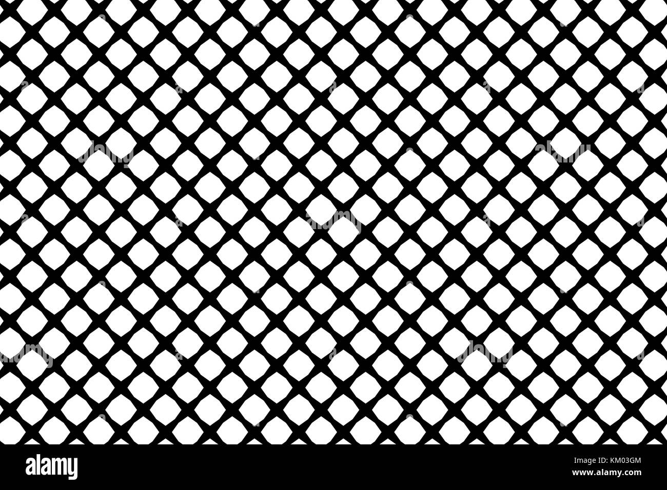 Mesh - abstract black and white pattern - vector, Abstract