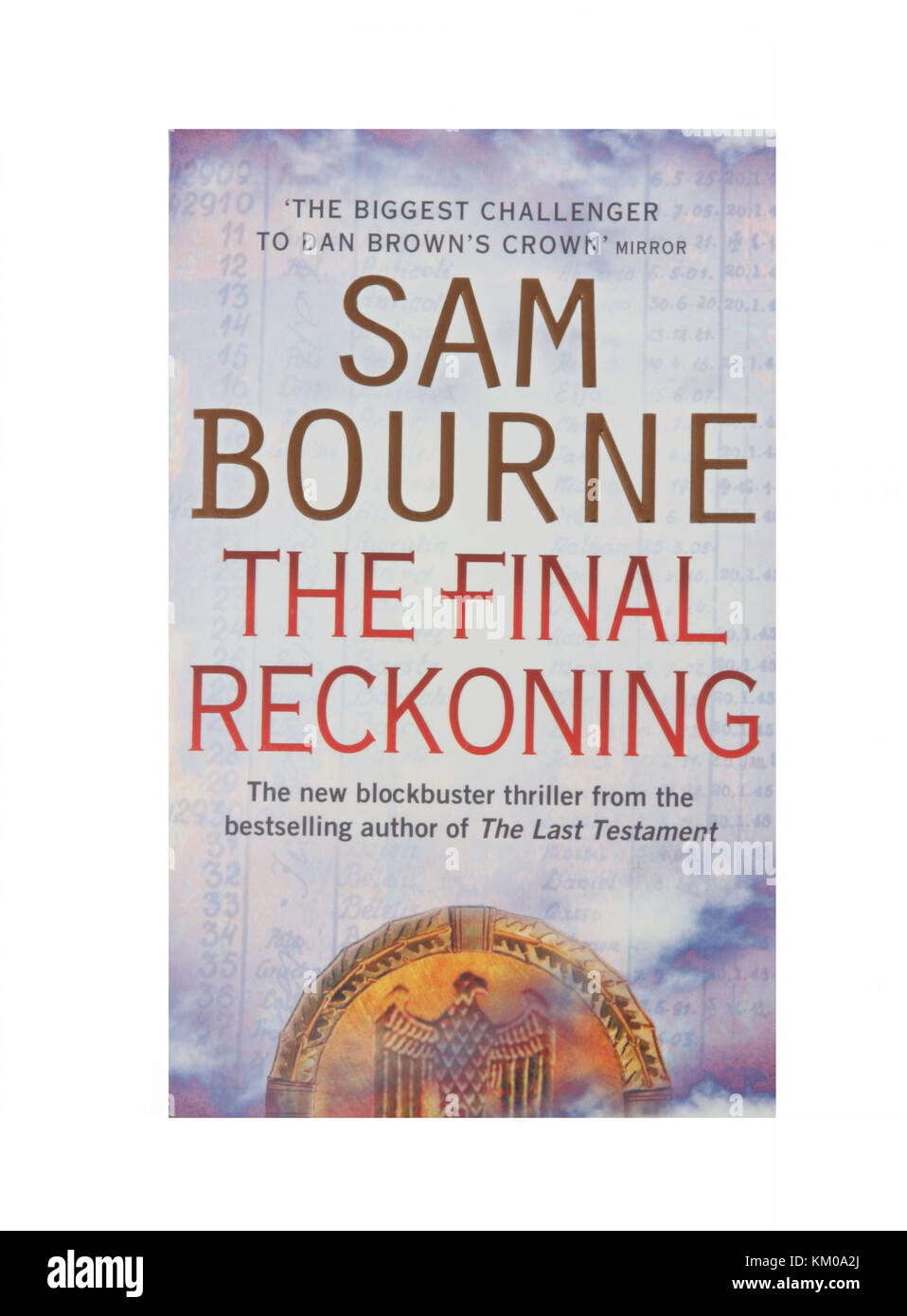 The book, The Final Reckoning by Sam Bourne - Stock Image