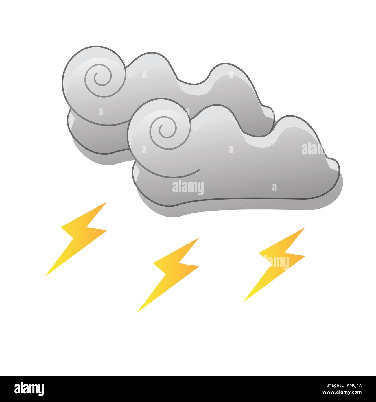weather icons - Stock Image