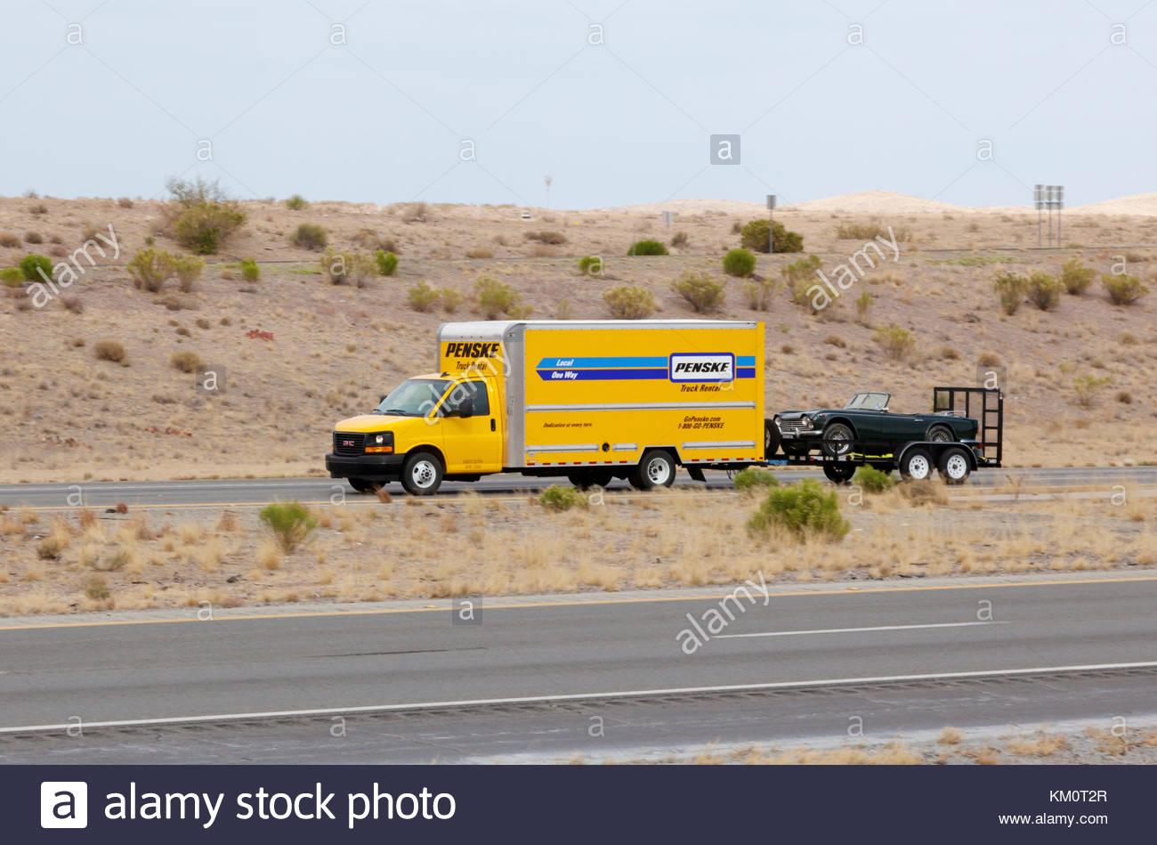 Penske Rental Truck Stock Photos Penske Rental Truck Stock Images