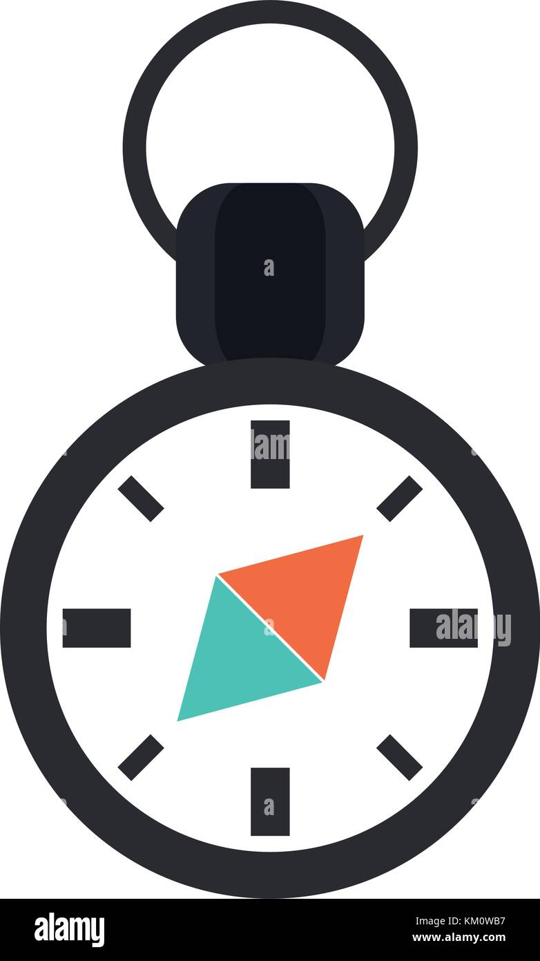 Navigation compass symbol Stock Vector