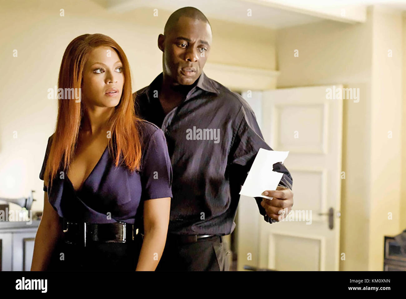 OBSESSED 2009 Screen Gems film with Beyonce and Idris Elba - Stock Image