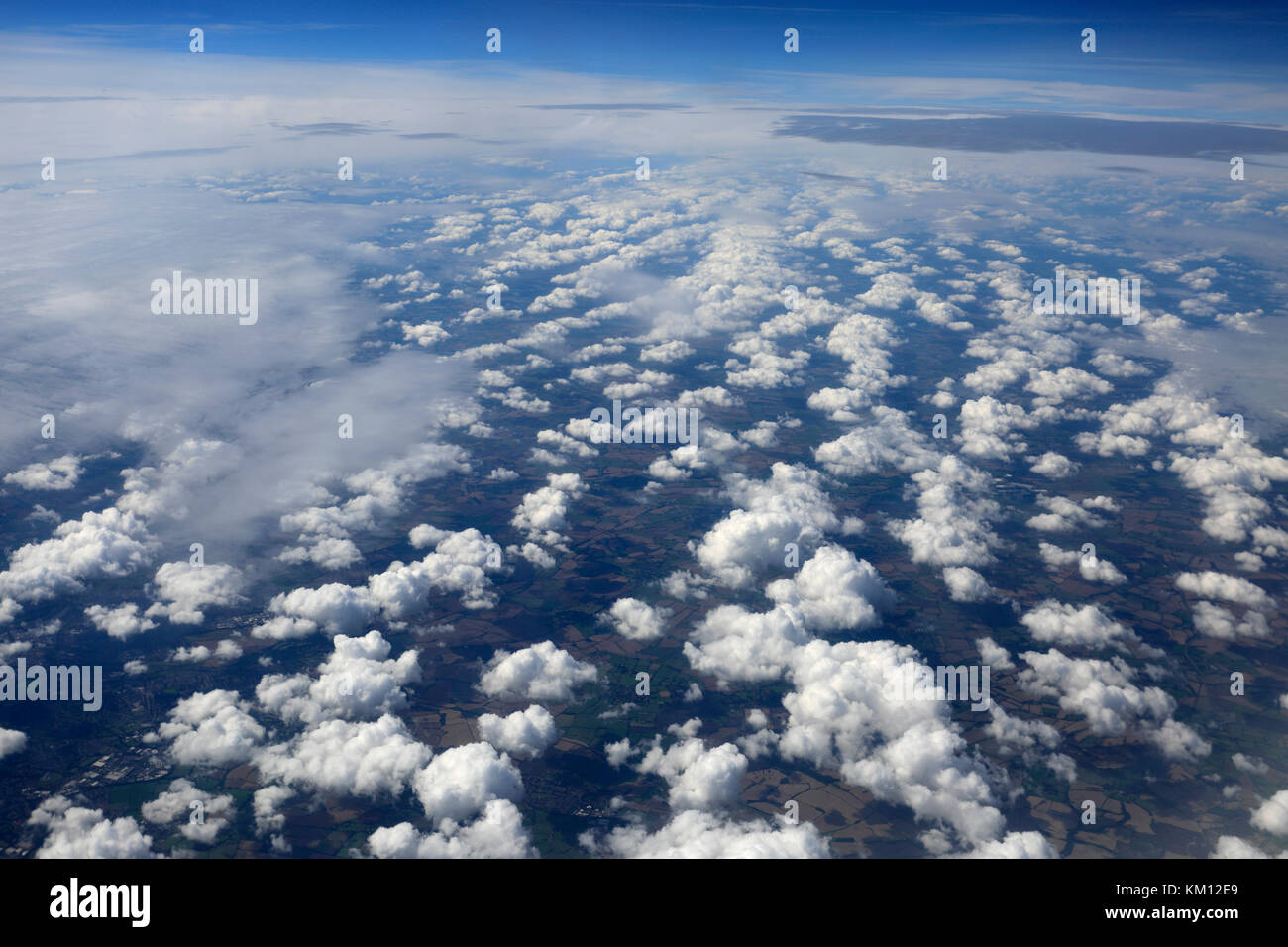 Ariel view over the Canadian Rocky mountains, British Columbia, Canada Stock Photo