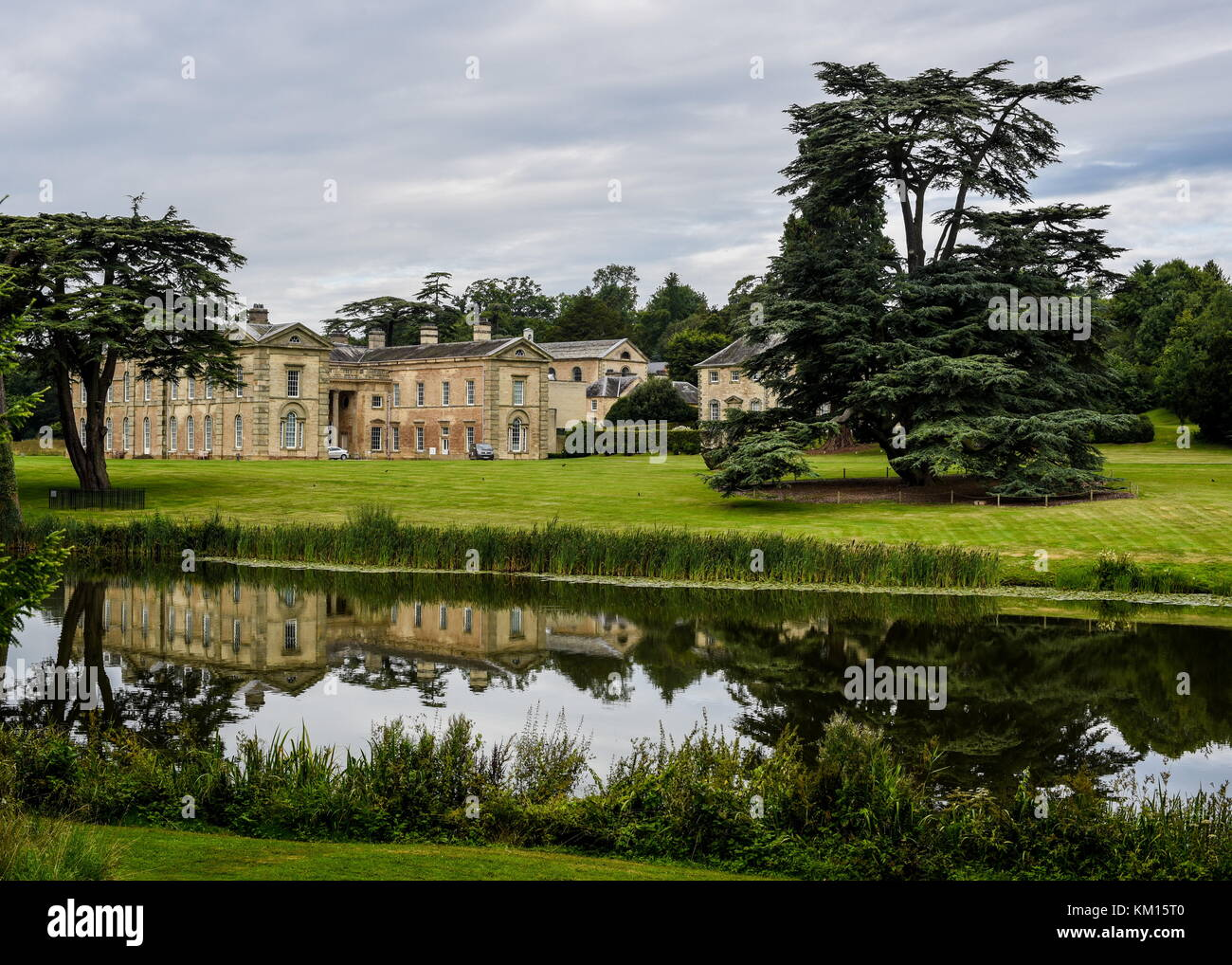 Compton Verney Wedding venue in Warwickshire, stately house set in the beautiful Warwickshire countryside, offering - Stock Image