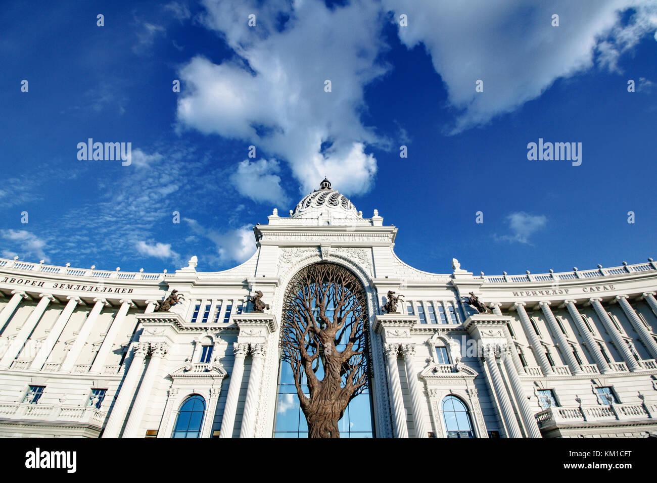Agricultural palace of Kazan, Russia Stock Photo