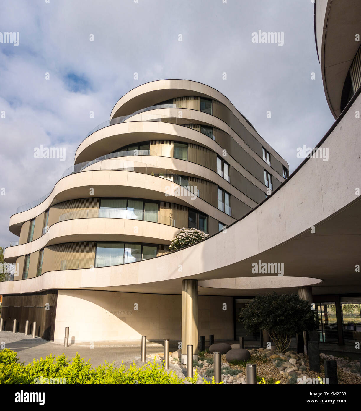 Riverwalk Apartments, Milbank, Westminster, London, UK - Stock Image