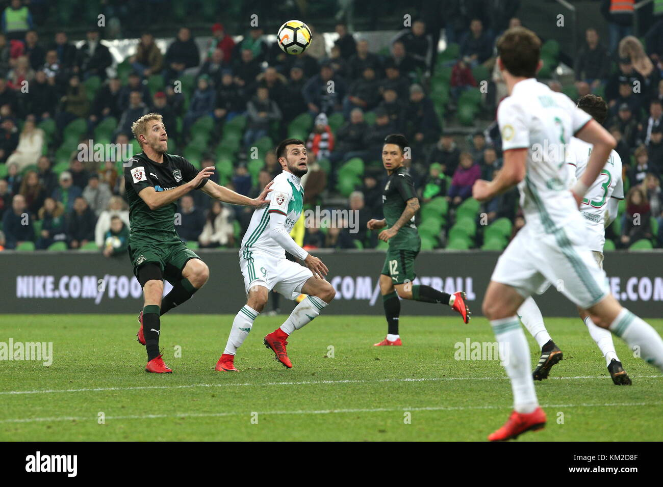 Krasnodar Russia December 3 2017 Fc Krasnodar S Yuri Gazinsky Stock Photo Alamy