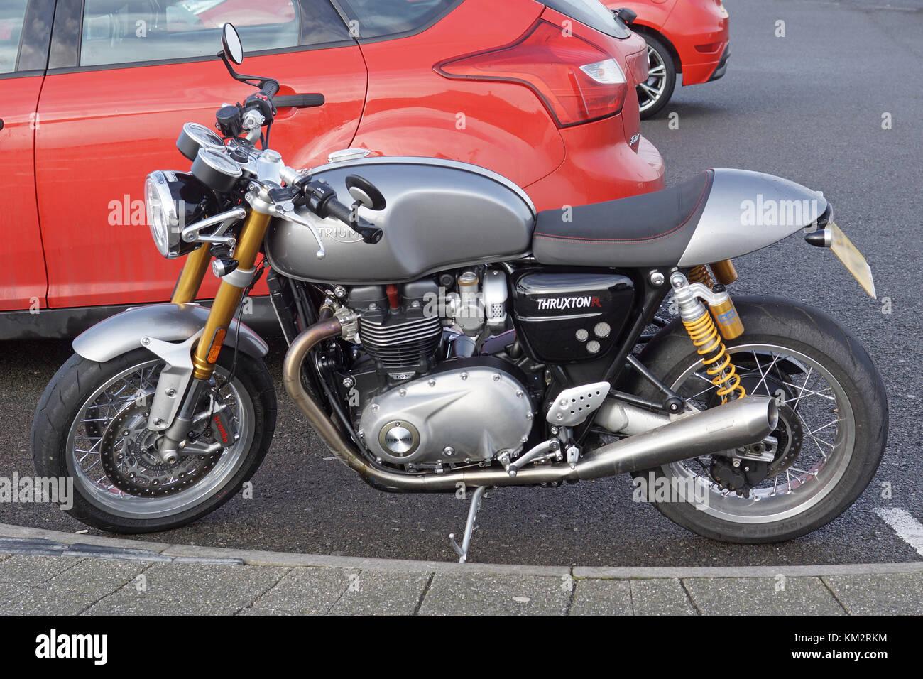 Triumph Thruxton R - Stock Image
