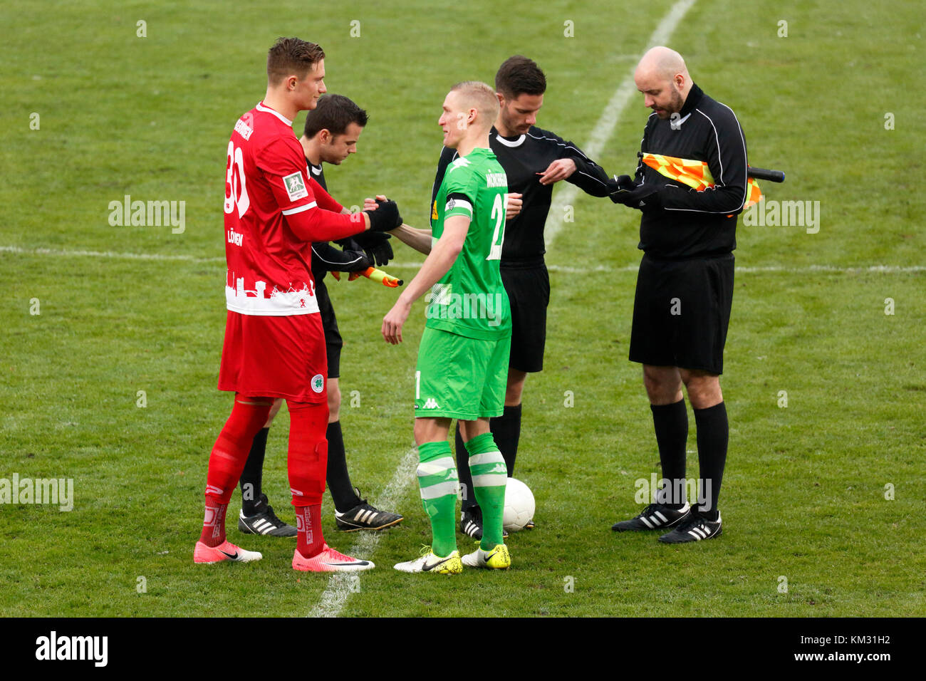 sports,football,Regional League West,2017/2018,Rot Weiss Oberhausen vs Borussia Moenchengladbach U23 1:2,Stadium - Stock Image