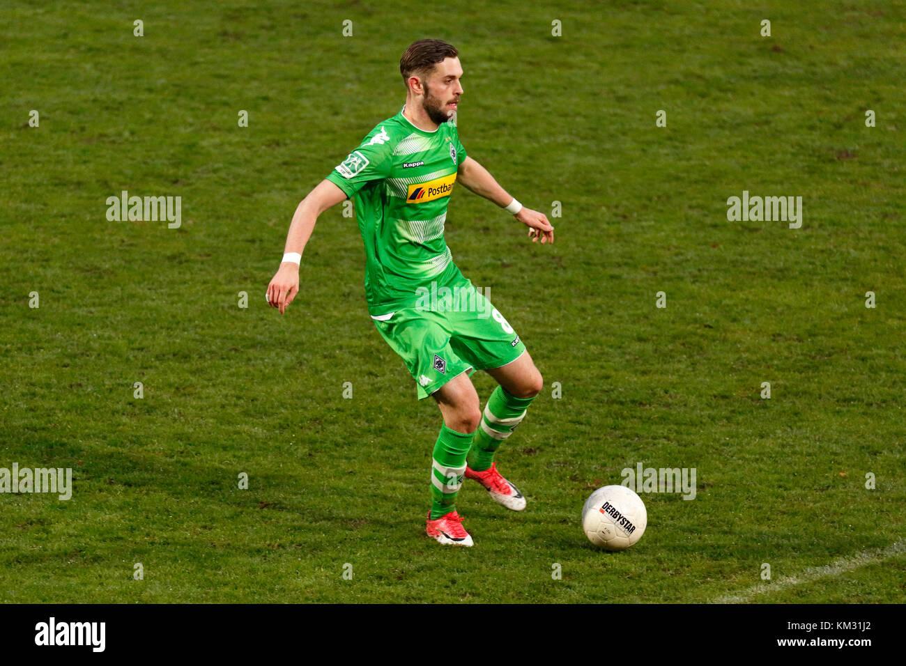 sports,football,Regional League West,2017/2018,Rot Weiss Oberhausen vs Borussia Moenchengladbach U23 1:2,Stadium - Stock Image