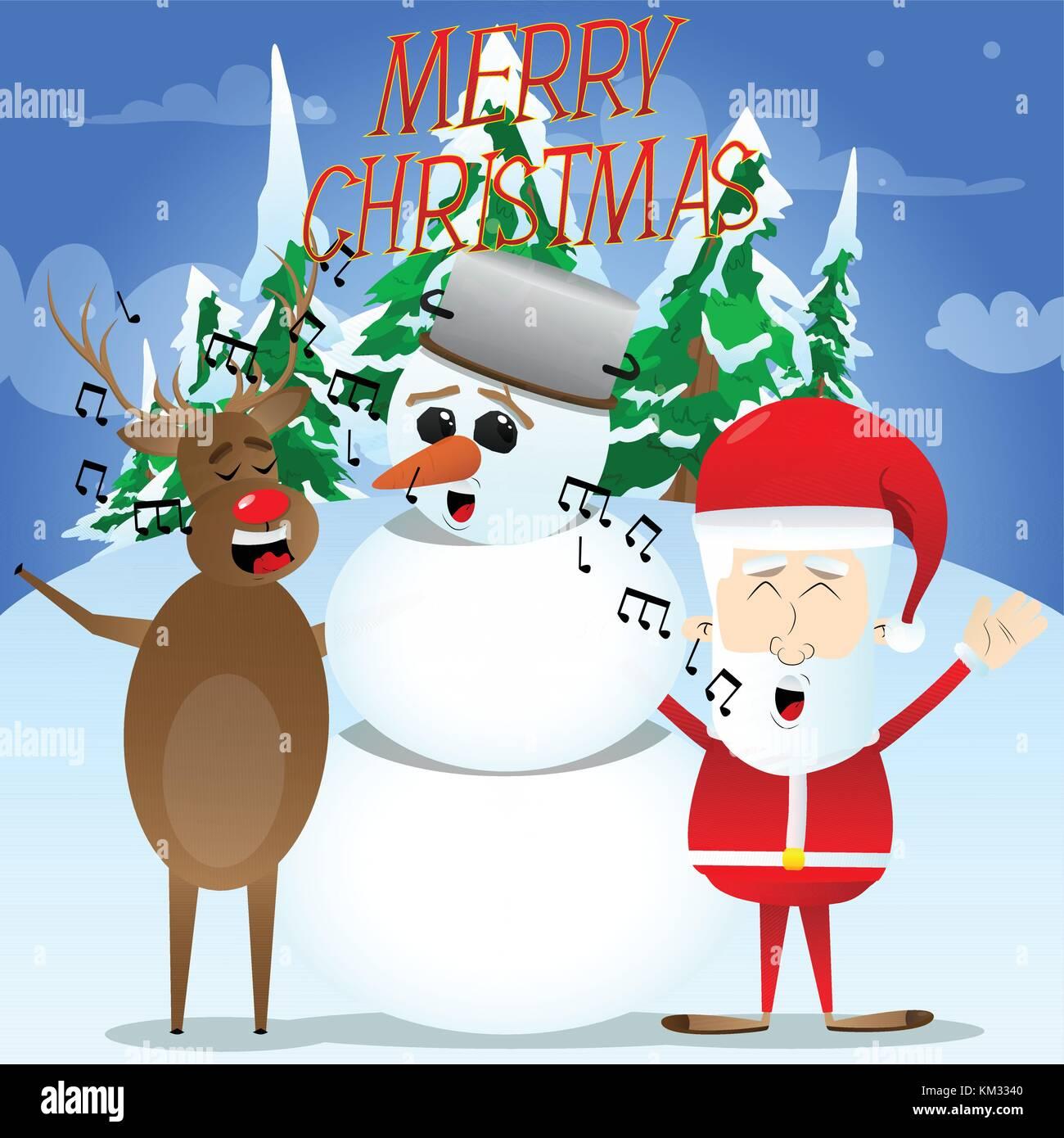Christmas Caroling Images.Christmas Caroling Illustration Stock Photos Christmas Caroling