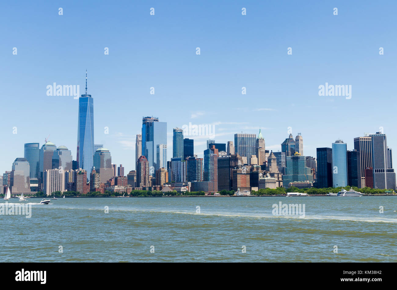 New York skylines - Stock Image