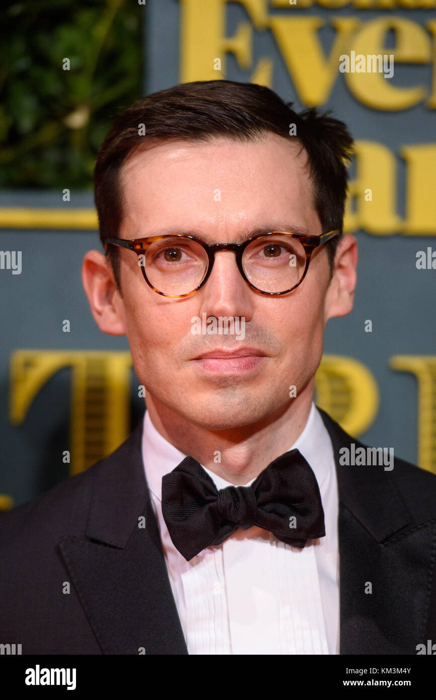Erdem Moralioglu attending the Evening Standard Theatre Awards, at the Theatre Royal in London. PRESS ASSOCIATION - Stock Image
