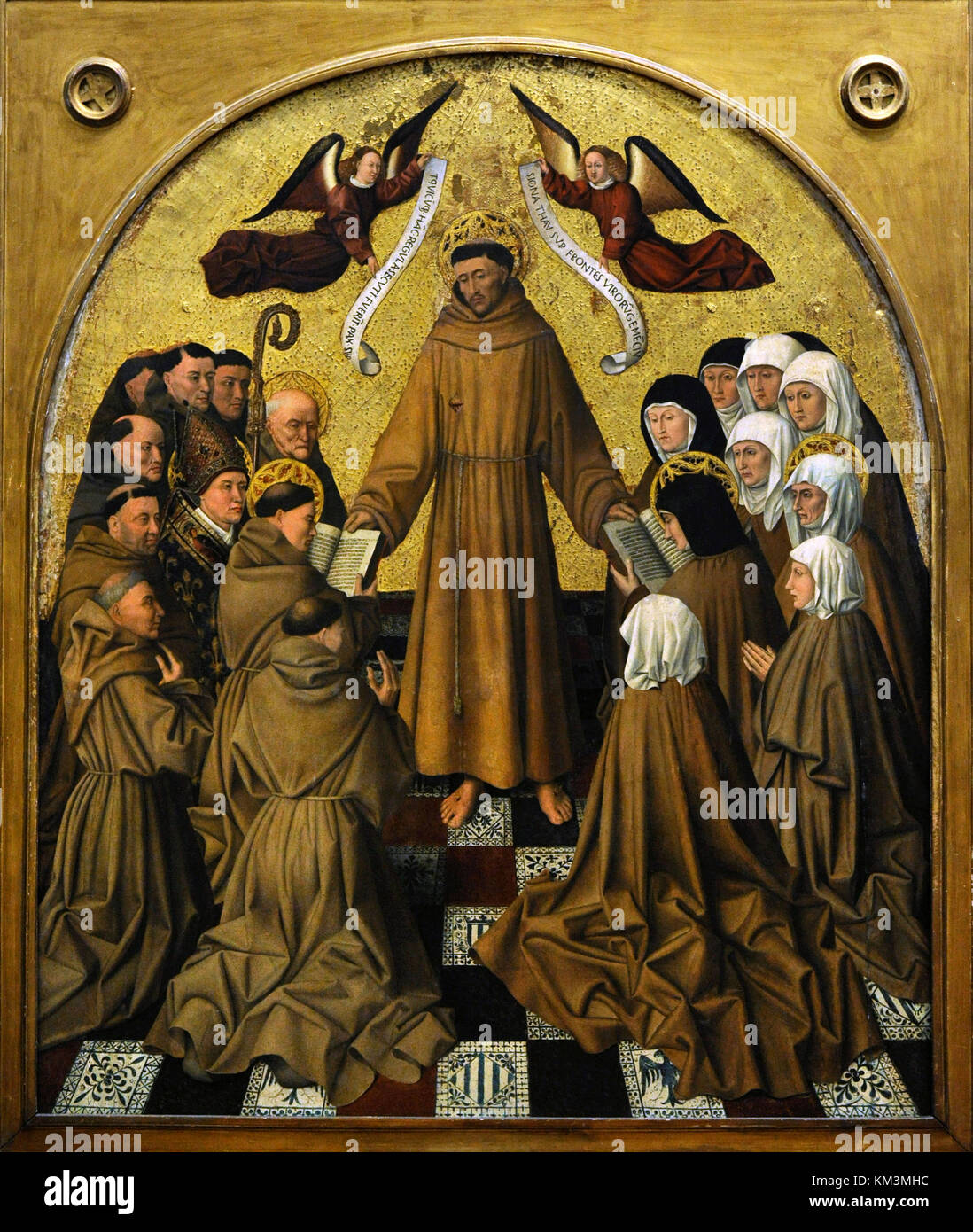 Saint Francis of Assisi (Giovanni di Pietro Bernardone) (1182-1226). Founder of the Franciscan Order. Saint Francis - Stock Image