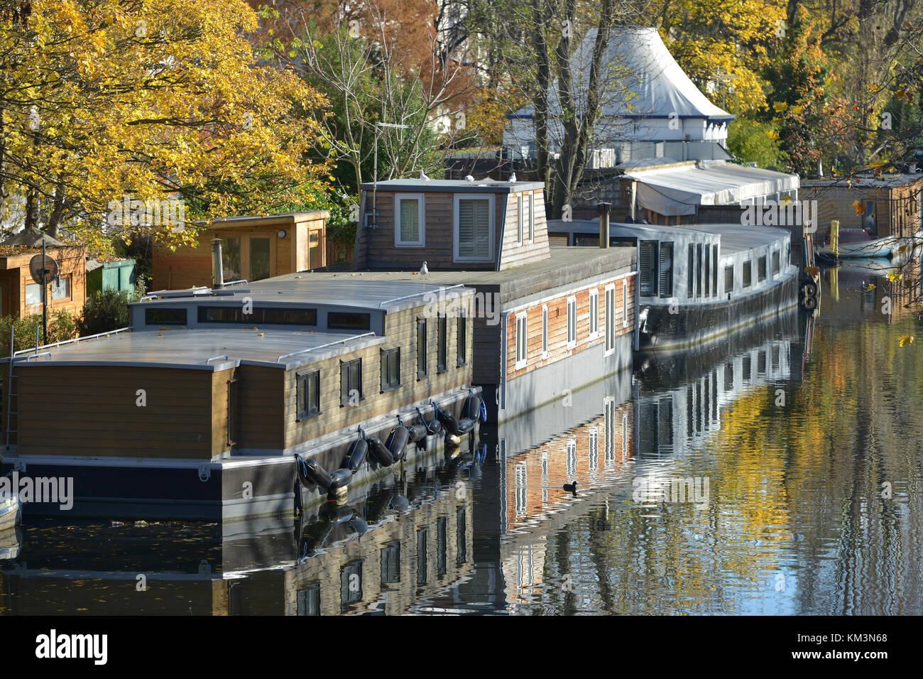 The Summerhouse, Little Venice, Westminster, London. - Stock Image