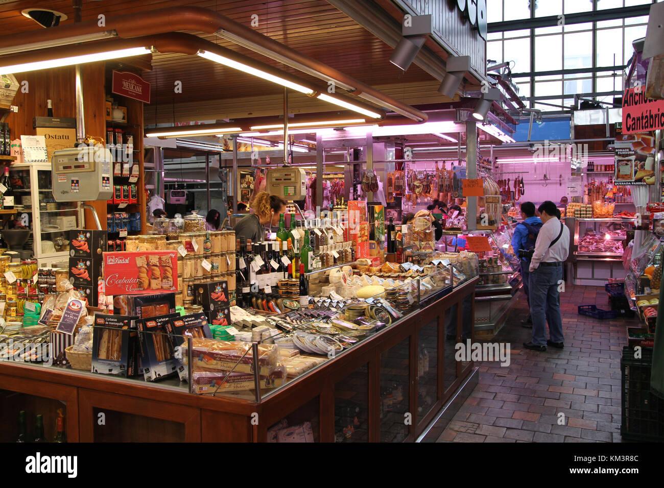 Bordeaux market - Stock Image