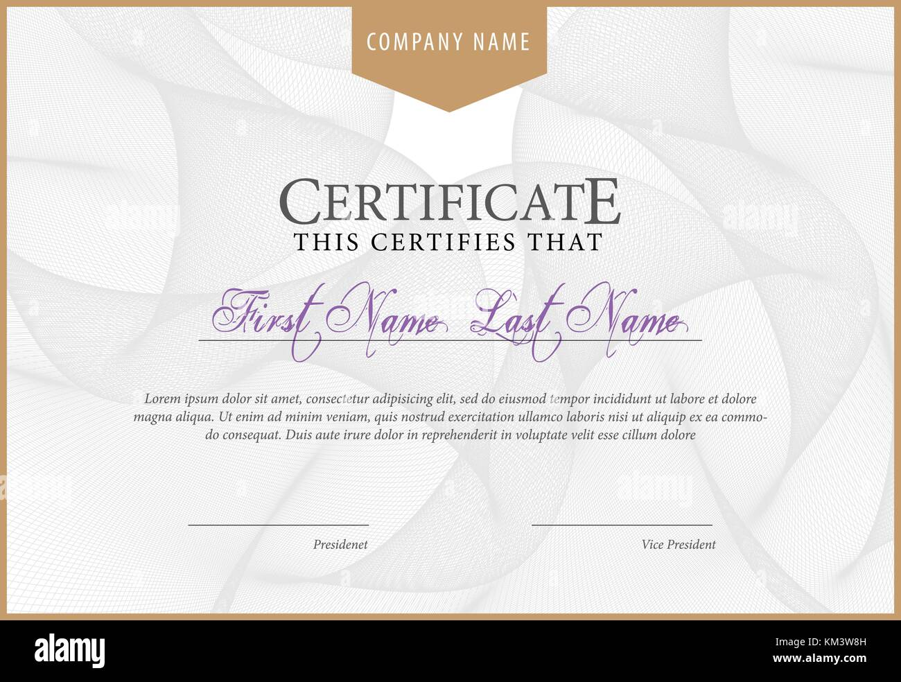 Award Certificate Stock Photos & Award Certificate Stock Images - Alamy