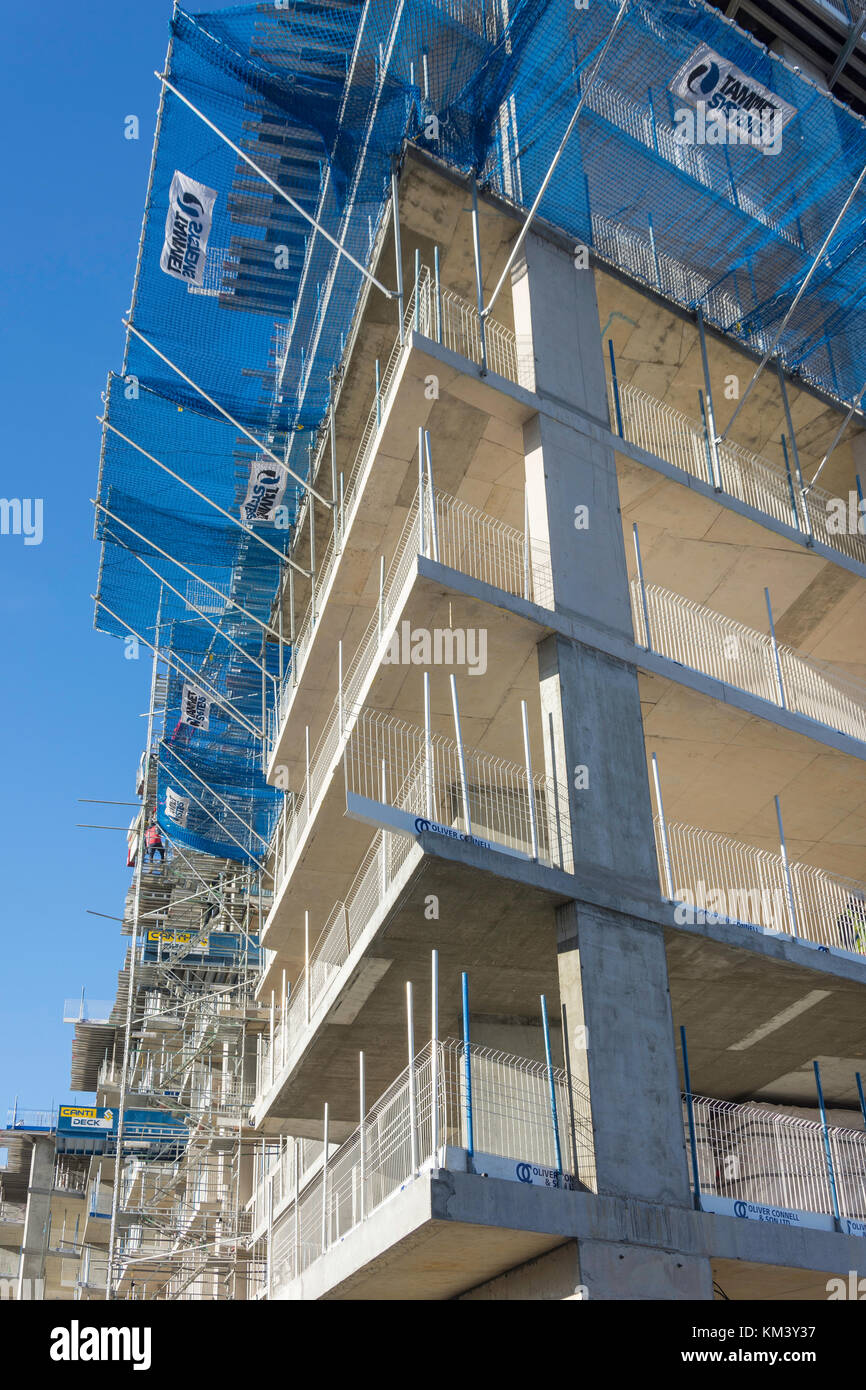 Building under construction, Bracknell, Berkshire, England, United Kingdom Stock Photo
