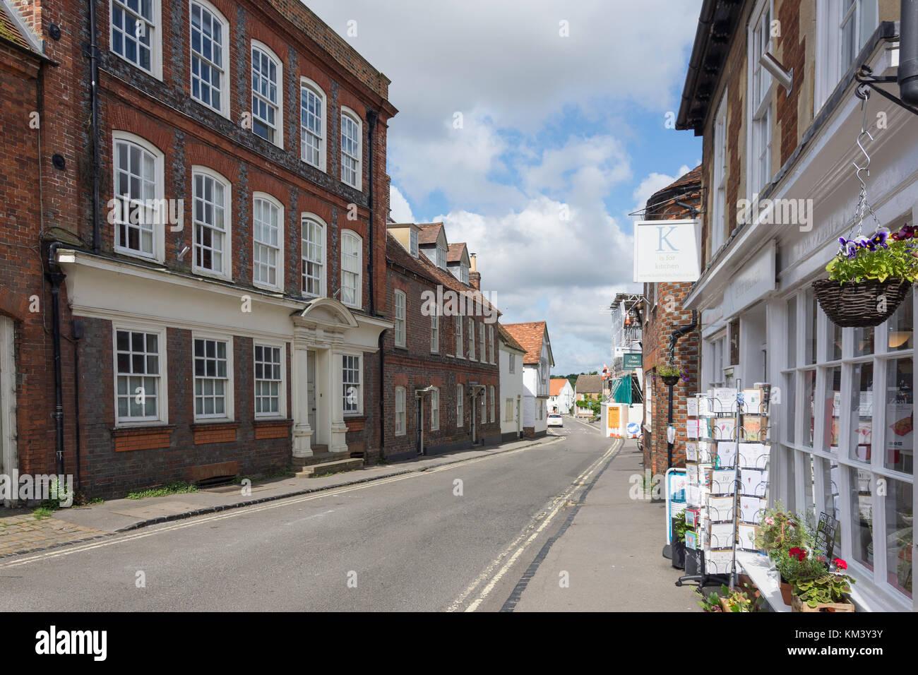 High Street, Watlington, Oxfordshire, England, United Kingdom - Stock Image