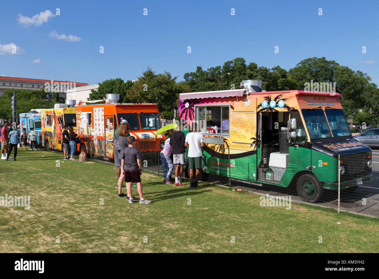 Food Trucks Downtown Columbus
