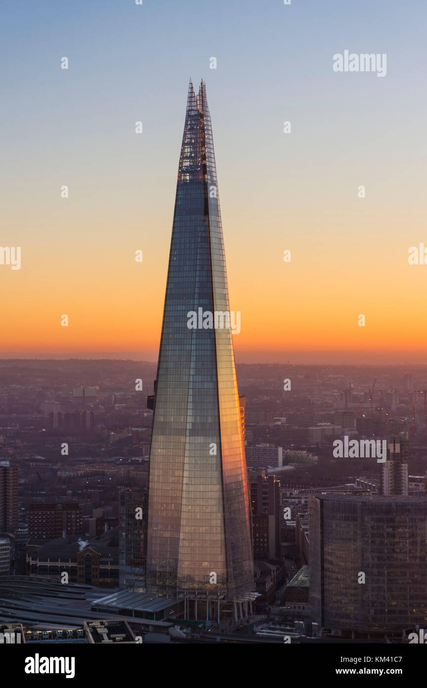 london The shard London England London uk gb eu europe the shard london London England uk gb eu europe - Stock Image