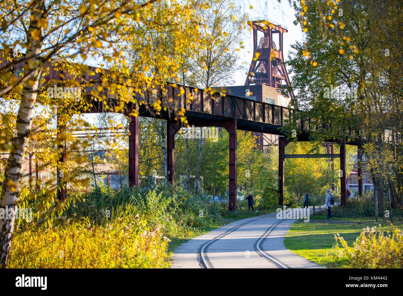 UNESCO world heritage site, Zeche Zollverein colliery in Essen, Germany, - Stock Image